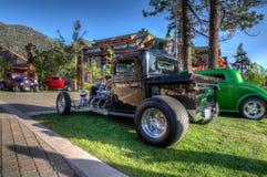 Car Show divino del lago Tahoe imagenes de archivo