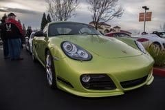 Car Show dos carros e do café de Blackhawk em Danville Fotografia de Stock Royalty Free