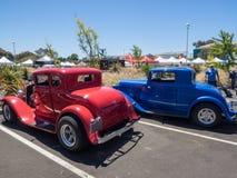 Car Show e BBQ do dia de pais Foto de Stock Royalty Free
