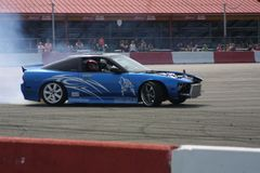 Car Show 2018 III della deriva del Motorsports dell'ingresso fotografie stock