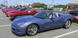 Car Show Korvetten Chevrolet Stockfotografie