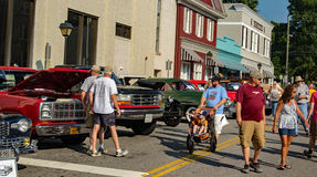 Car Show - Olde Salem Days stock photography
