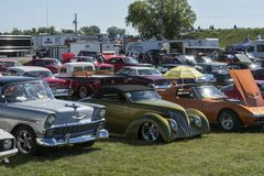 Car show. Picture of car show during the grand national show, august 27-28 2016 stock photos