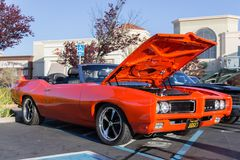 Pontiac GTO Judge Royalty Free Stock Photography