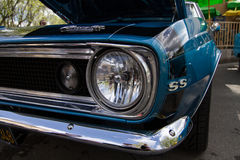 Car Show Pleasanton Ca 2014 di Goodguys Fotografia Stock Libera da Diritti
