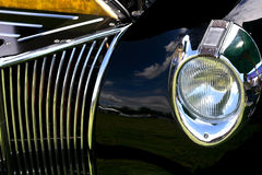 Car show reflections Royalty Free Stock Photo