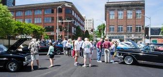 Car Show - Roanoke, Virginia, USA lizenzfreie stockbilder