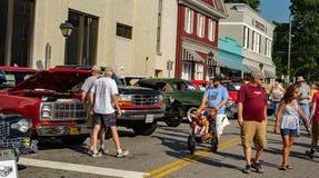 Car Show - Salem Days d'antan Photographie stock