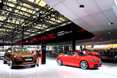 Car Show, sommet automatique 2011 de Changhaï Photo stock