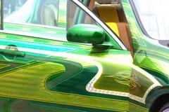 Car Showretuschsprutakonst Royaltyfri Fotografi