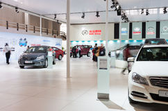 Car showroom Stock Image