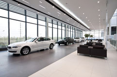 Car Showroom Stock Photo