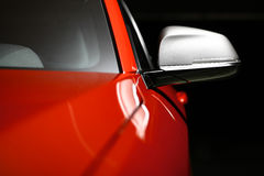 Car side mirror Stock Images