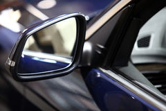Car side mirror Royalty Free Stock Photos