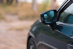 Car Side mirror Royalty Free Stock Image