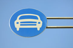 Car Sign Royalty Free Stock Photo