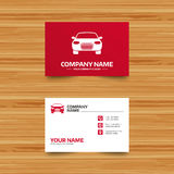 Car sign icon. Delivery transport symbol. Royalty Free Stock Photography