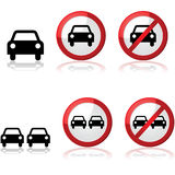 Car signs Royalty Free Stock Photos