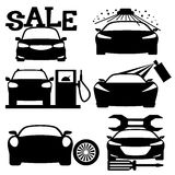 Car signs. Stock Photography