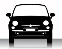 Car silhouette Royalty Free Stock Images