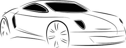 Car sketch Stock Photo