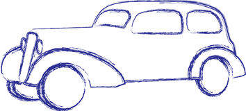 Car sketch Stock Photos