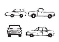 Car Sketch Stock Photography