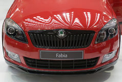 Car Skoda-Fabia Royalty Free Stock Photo