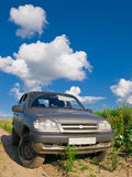 Car and sky Stock Photography