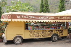 Car snack Mobile Shop Royalty Free Stock Photography
