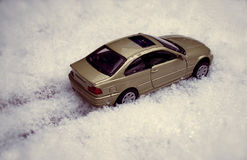 Car and snow Stock Image