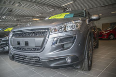 Car sold, peugeot 4008 Royalty Free Stock Photos