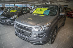 Car sold, peugeot 4008 Royalty Free Stock Photo