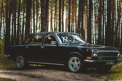 The car of Soviet times Royalty Free Stock Photo