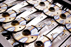 Car spare parts. Pattern for background design Stock Images
