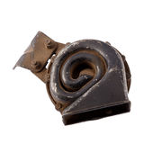 Car spare parts, Vehicle horn Stock Image