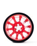 Car spare wheel Stock Photos