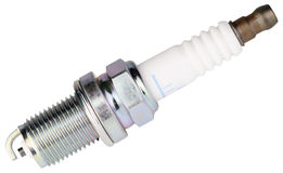 Car spark-plug side view Royalty Free Stock Photography