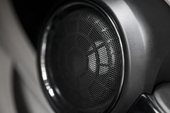 Car speaker Royalty Free Stock Image