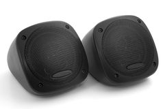 Car speakers (audio dynamics) Royalty Free Stock Photography