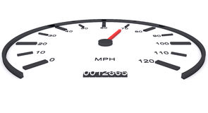 Car speed Royalty Free Stock Images