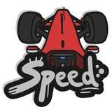 Car speed Stock Image