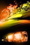 car speed Στοκ εικόνες με δικαίωμα ελεύθερης χρήσης