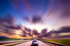 Car speed concept Stock Photos