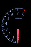 Car speed mete Royalty Free Stock Photo
