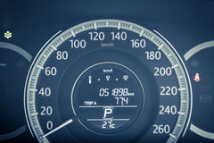 Car speed meter Royalty Free Stock Images