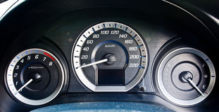 Car speed meter 1 Stock Photography