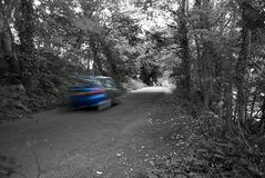 Car at Speed Royalty Free Stock Images