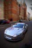 car speeding Στοκ φωτογραφία με δικαίωμα ελεύθερης χρήσης