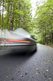 Car speeding Royalty Free Stock Images